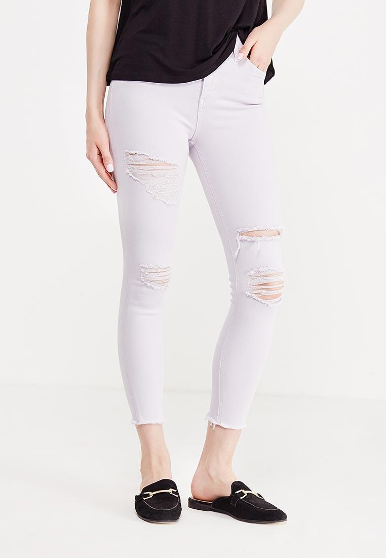 Зауженные джинсы Topshop (Топ Шоп) 02Y01LLIL