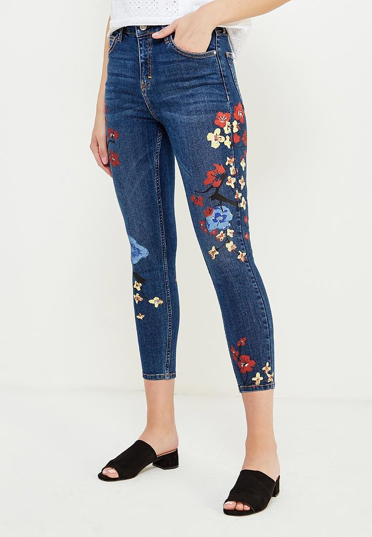 Зауженные джинсы Topshop (Топ Шоп) 02Y60LMDT