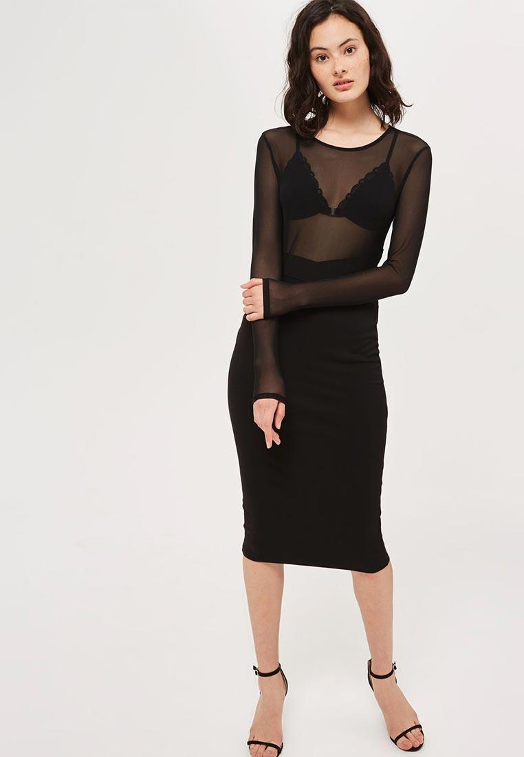 Вечернее / коктейльное платье Topshop (Топ Шоп) 35B11LBLK