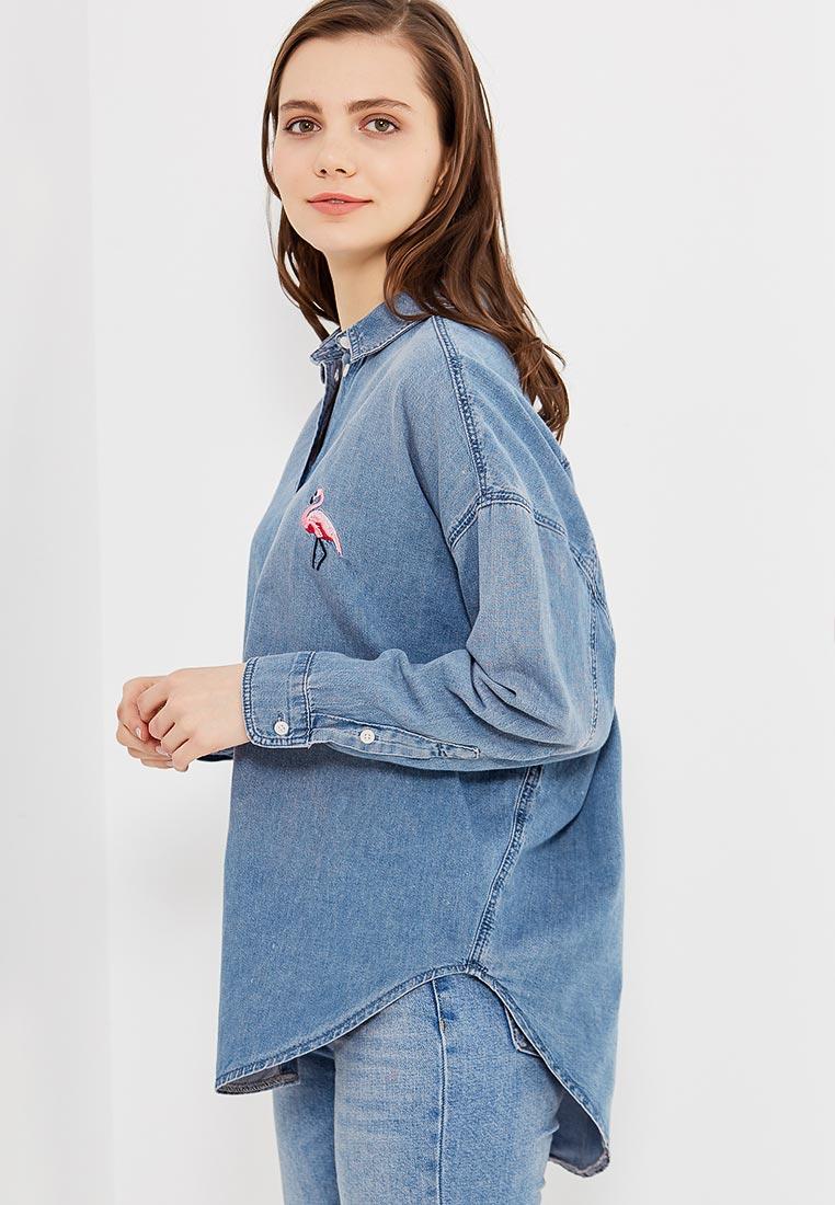 Женские джинсовые рубашки Topshop 05H04MMDT