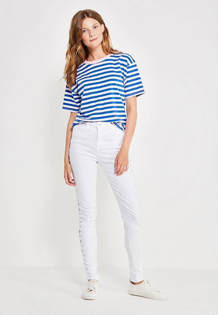 Зауженные джинсы Topshop (Топ Шоп) 30A87LWHT: изображение 2