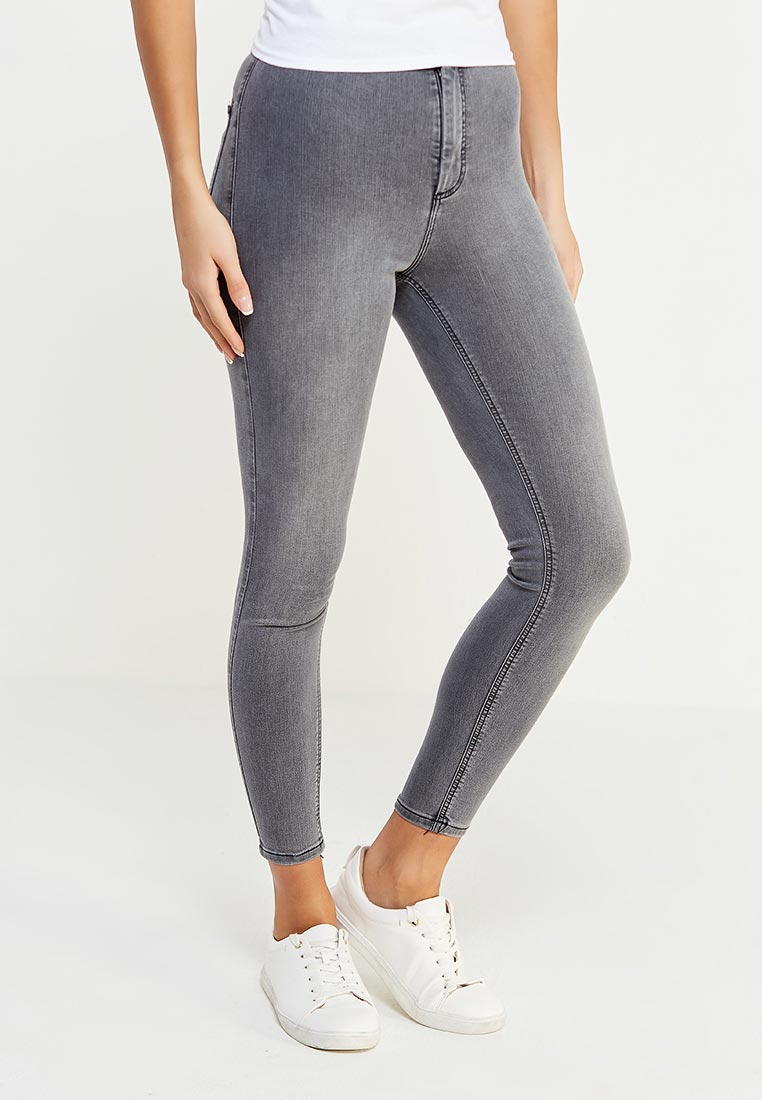 Зауженные джинсы Topshop (Топ Шоп) 02J05MGRY