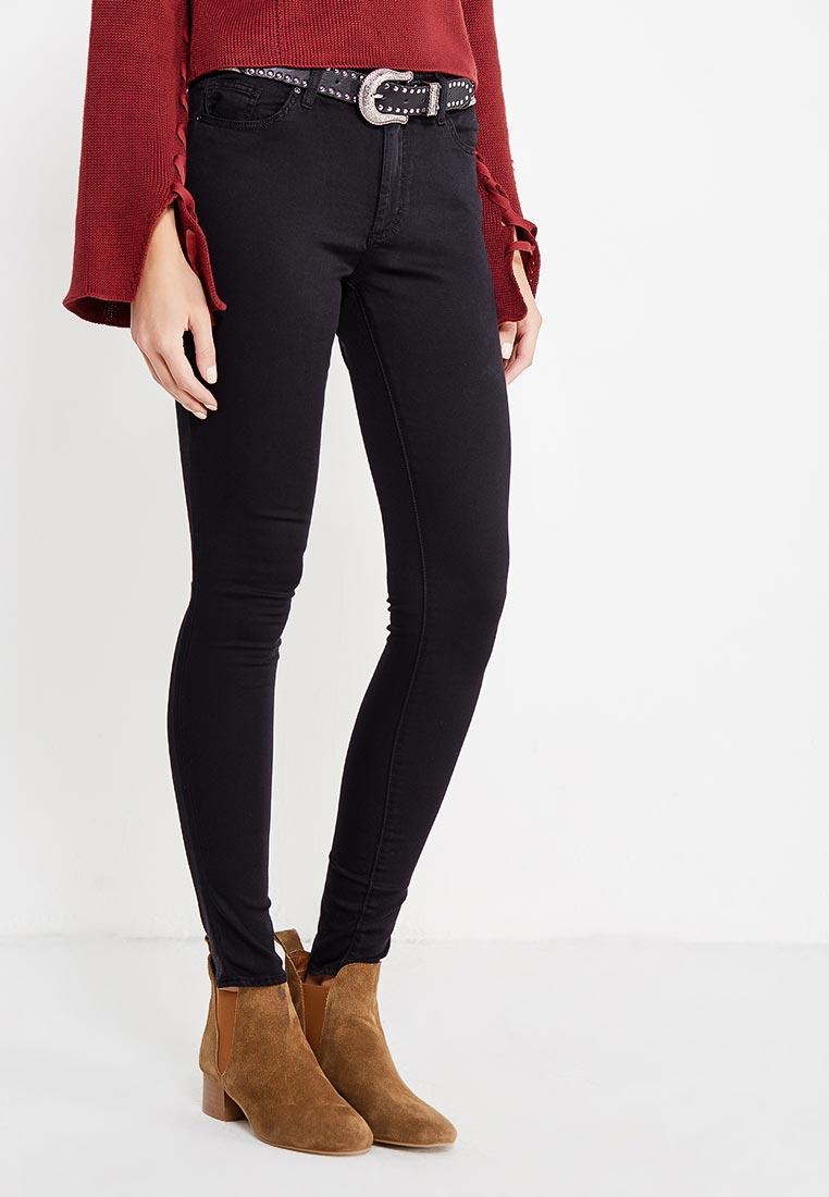 Женские зауженные брюки Topshop (Топ Шоп) 02L06MBLK