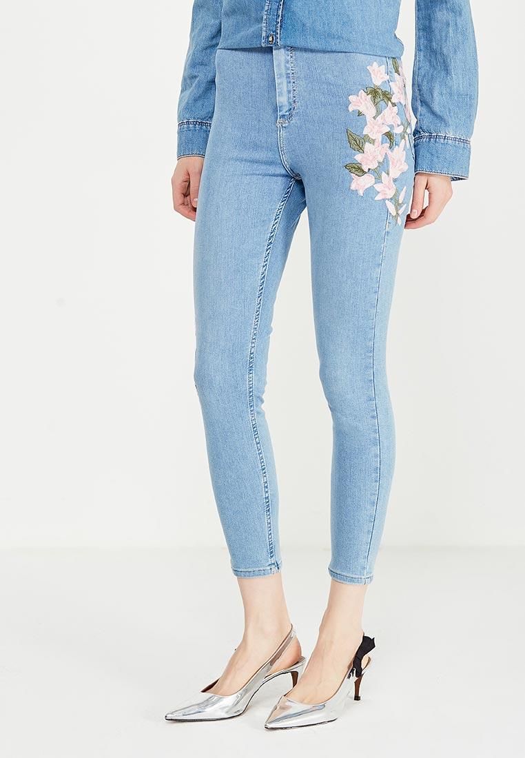 Зауженные джинсы Topshop (Топ Шоп) 02J01LBLC