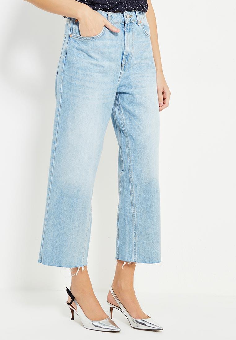 Широкие и расклешенные джинсы Topshop (Топ Шоп) 02C03LBLC