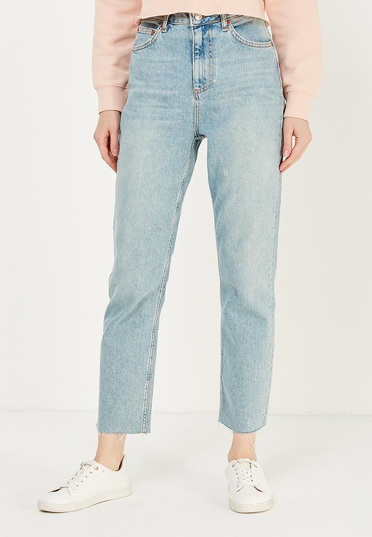 Зауженные джинсы Topshop (Топ Шоп) 02G05MBLC