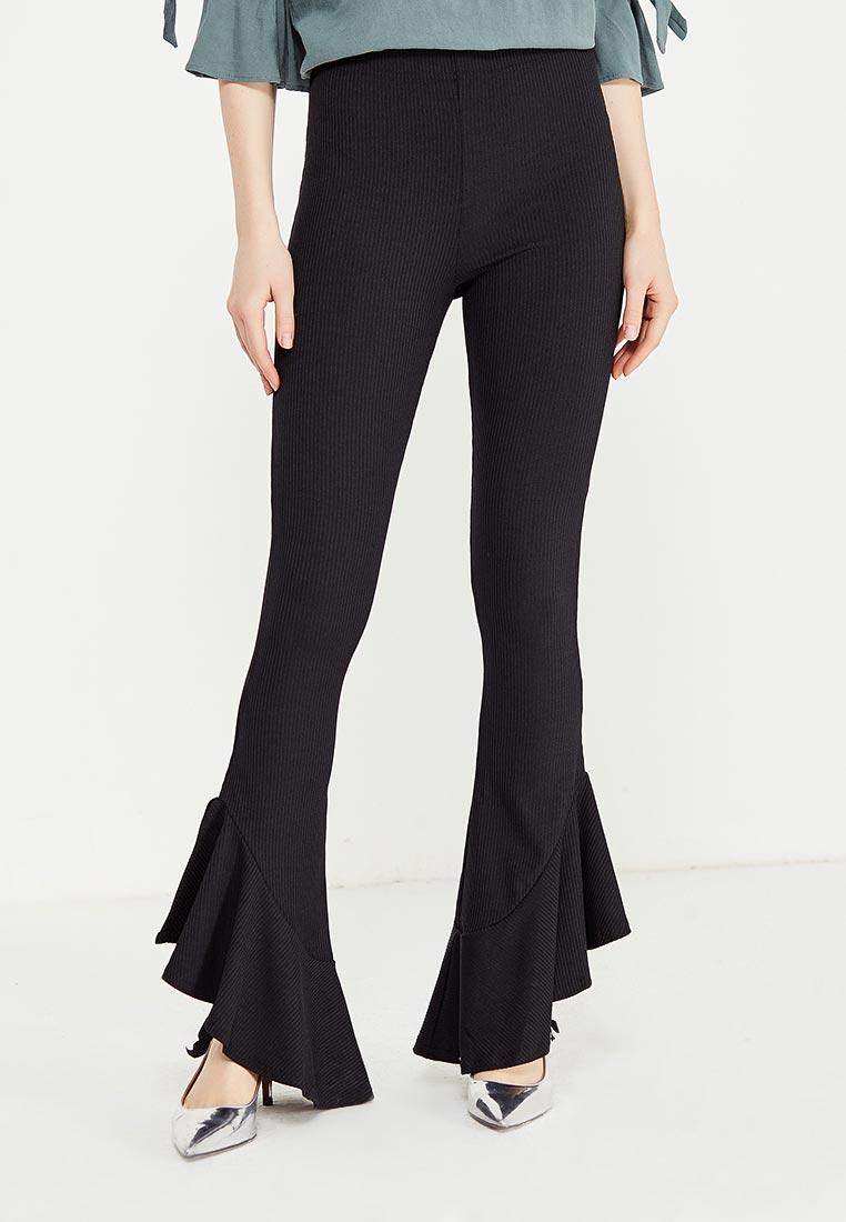 Женские широкие и расклешенные брюки Topshop (Топ Шоп) 16K01MBLK