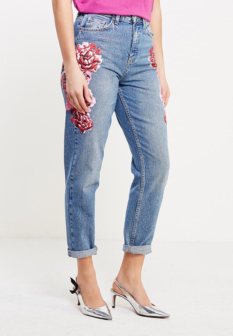 Зауженные джинсы Topshop (Топ Шоп) 02M46LMDT