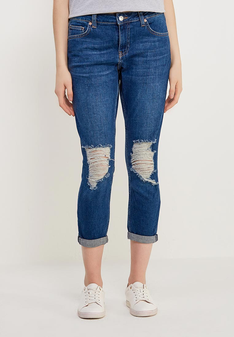 Зауженные джинсы Topshop (Топ Шоп) 02V04MDST