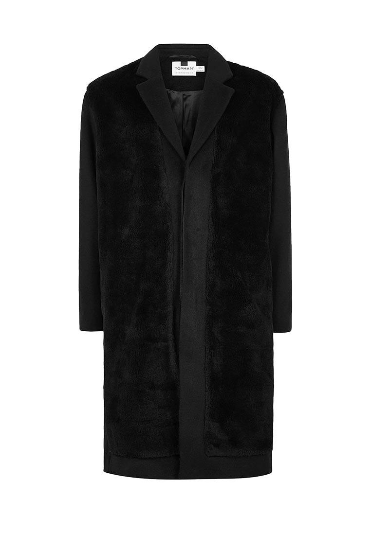Мужские пальто Topman (Топмэн) 64D00PBLK