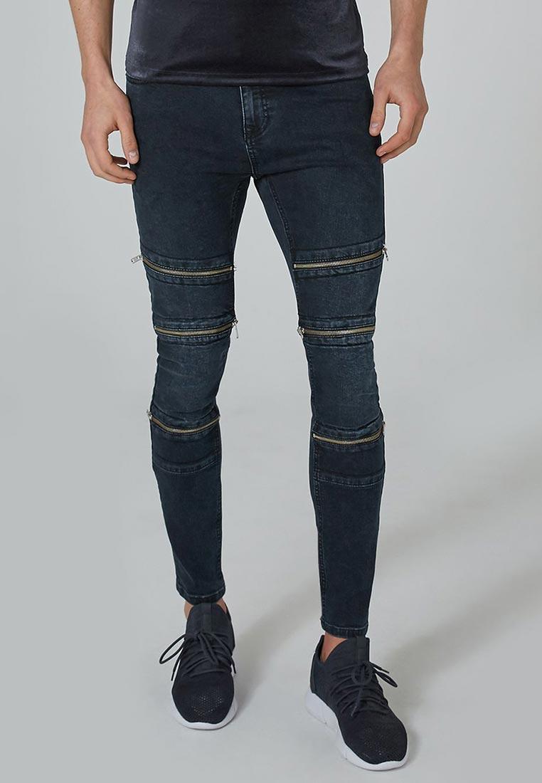 Зауженные джинсы Topman (Топмэн) 69D14PNAV