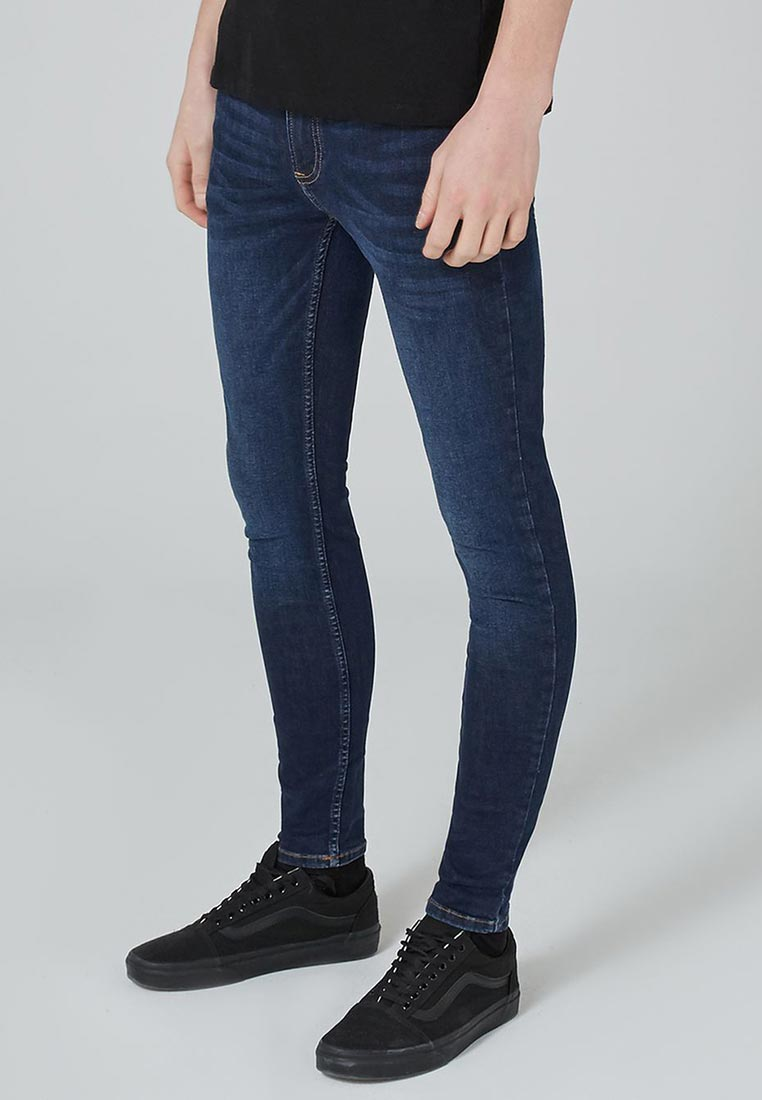 Зауженные джинсы Topman (Топмэн) 69D10PDST