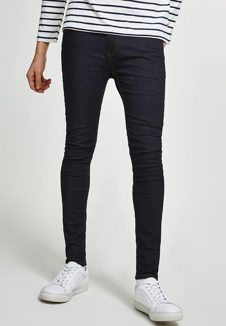 Зауженные джинсы Topman (Топмэн) 69F08PIND