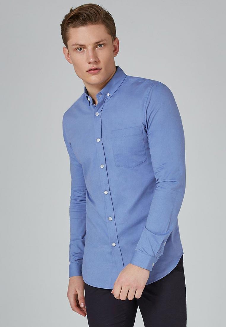 Рубашка с длинным рукавом Topman (Топмэн) 83B39ONAV