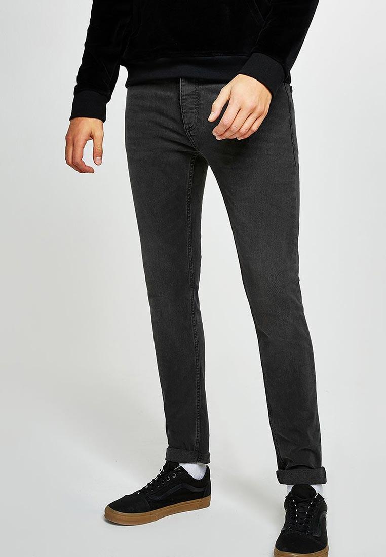 Зауженные джинсы Topman (Топмэн) 69F02PGRY