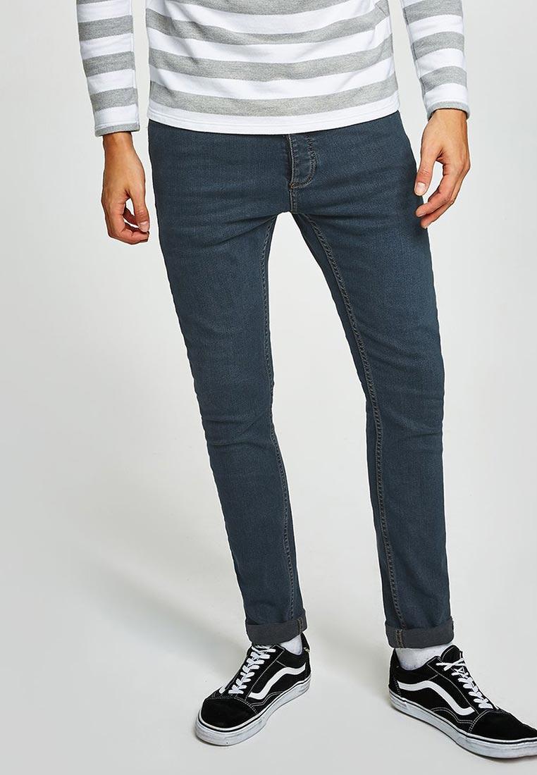 Зауженные джинсы Topman (Топмэн) 69F06PGRY