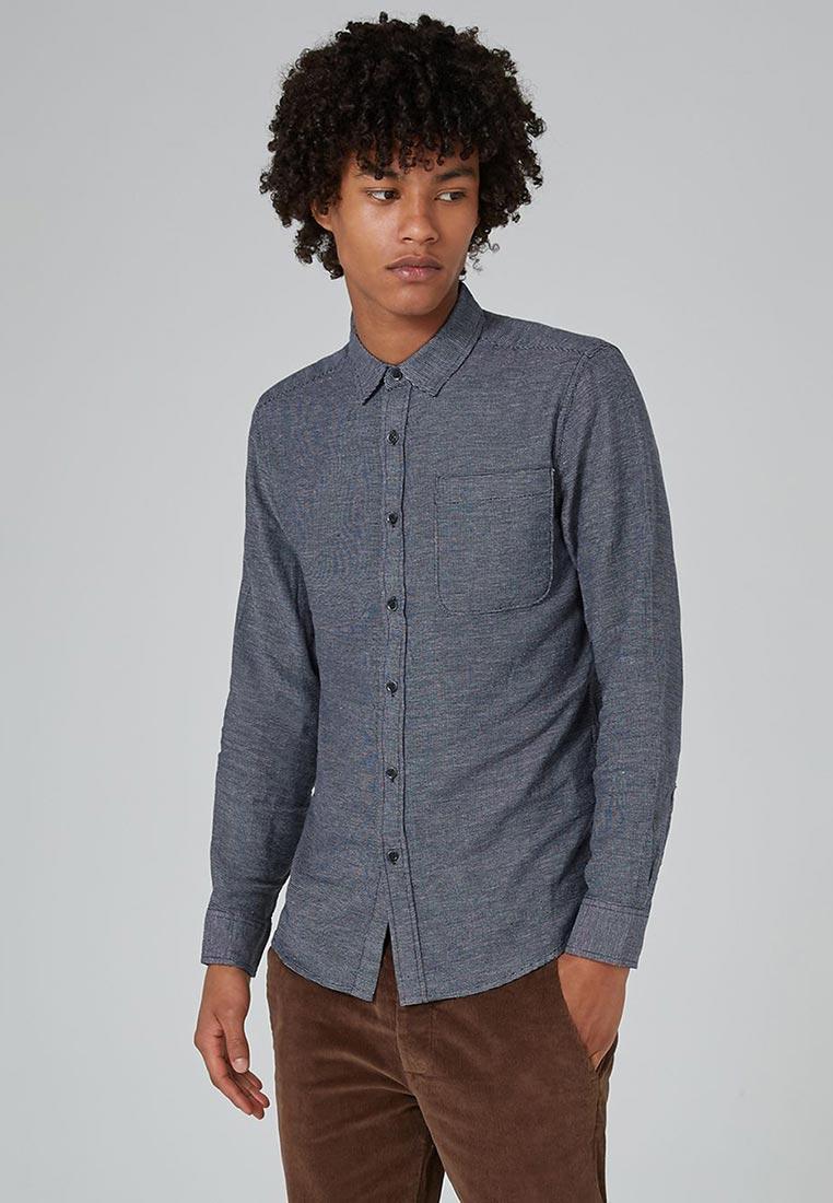 Рубашка с длинным рукавом Topman (Топмэн) 83B17ONAV