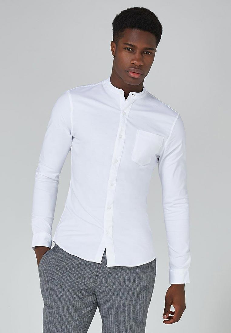 Рубашка с длинным рукавом Topman (Топмэн) 83B32OWHT
