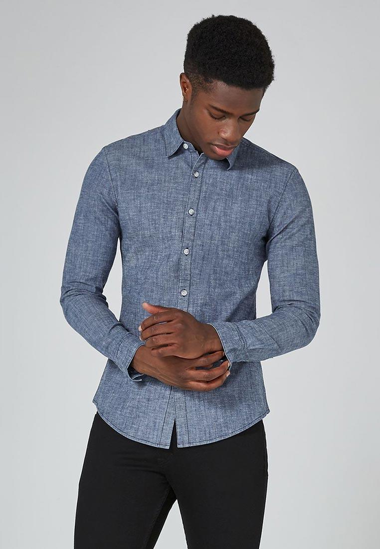 Рубашка с длинным рукавом Topman (Топмэн) 83E04PIND