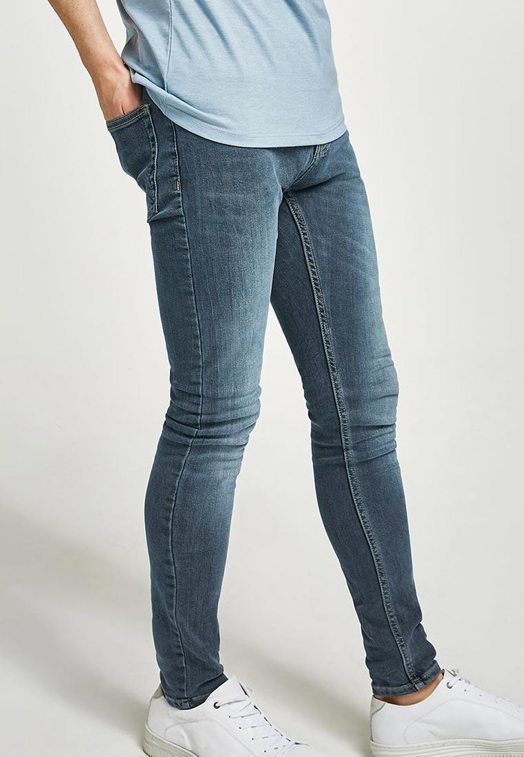 Зауженные джинсы Topman (Топмэн) 69D08PMST