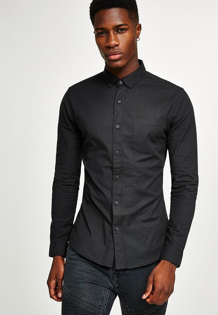 Рубашка с длинным рукавом Topman (Топмэн) 83B41OBLK