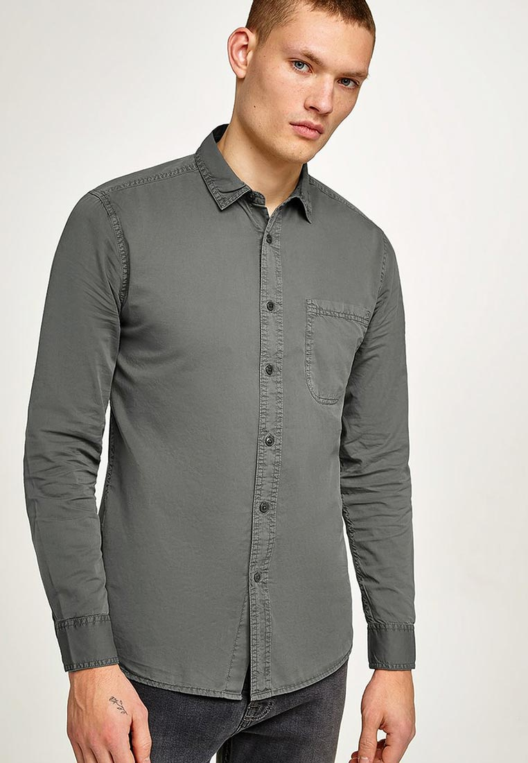 Рубашка с длинным рукавом Topman (Топмэн) 83B11OGRY