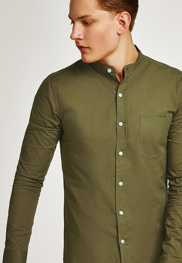 Рубашка с длинным рукавом Topman (Топмэн) 83B46OKHA