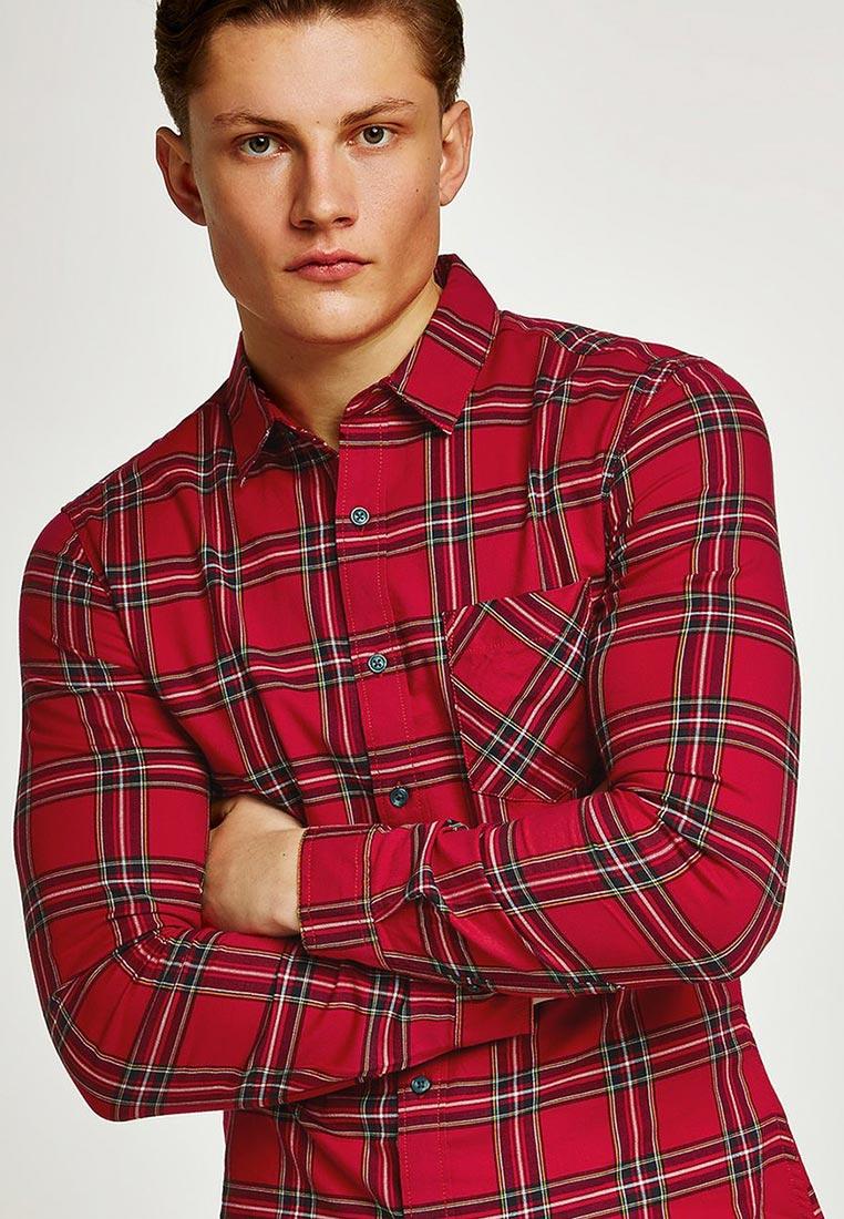 Рубашка с длинным рукавом Topman (Топмэн) 83C34ORED