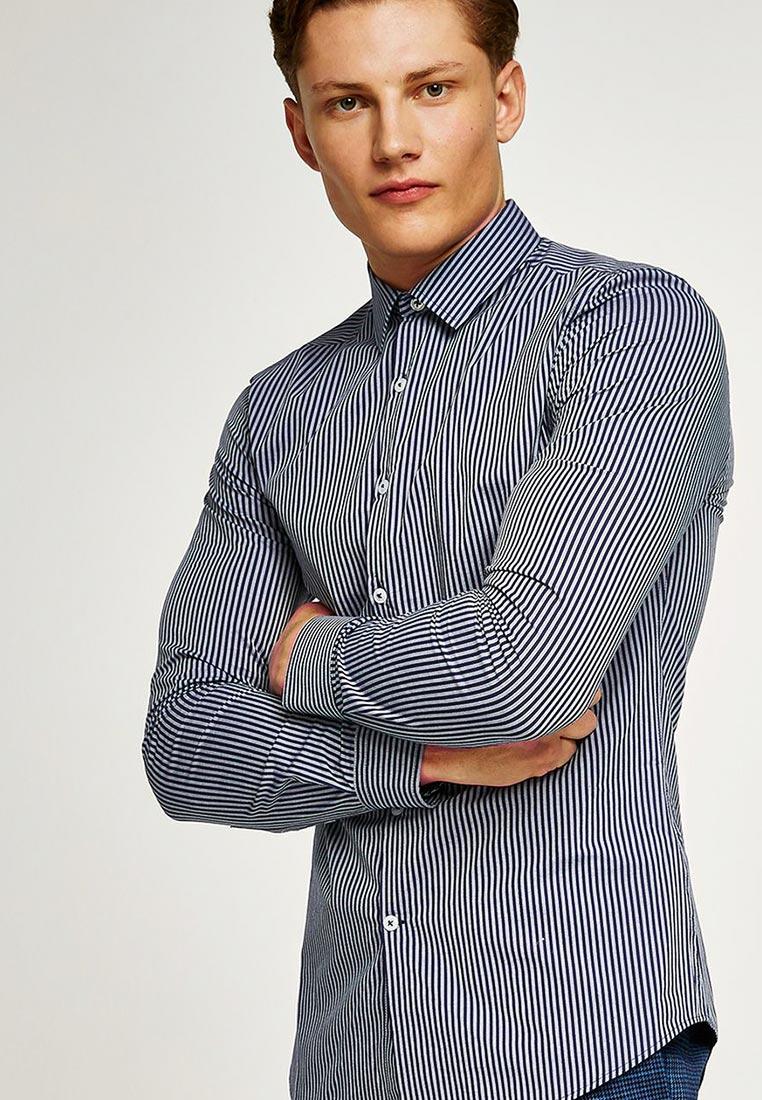 Рубашка с длинным рукавом Topman (Топмэн) 84C38ONAV