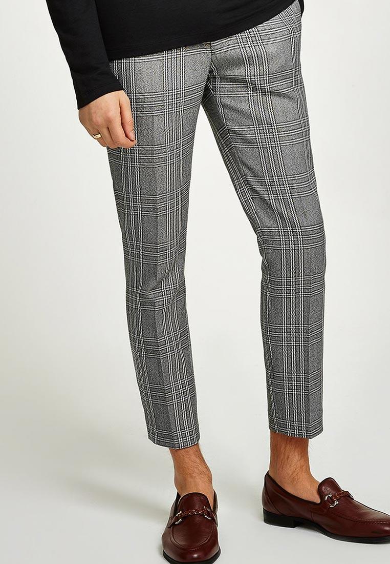 Мужские повседневные брюки Topman (Топмэн) 88D12QGRY