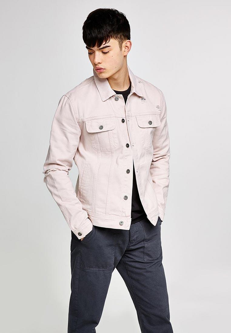 Джинсовая куртка Topman (Топмэн) 64P06QPNK
