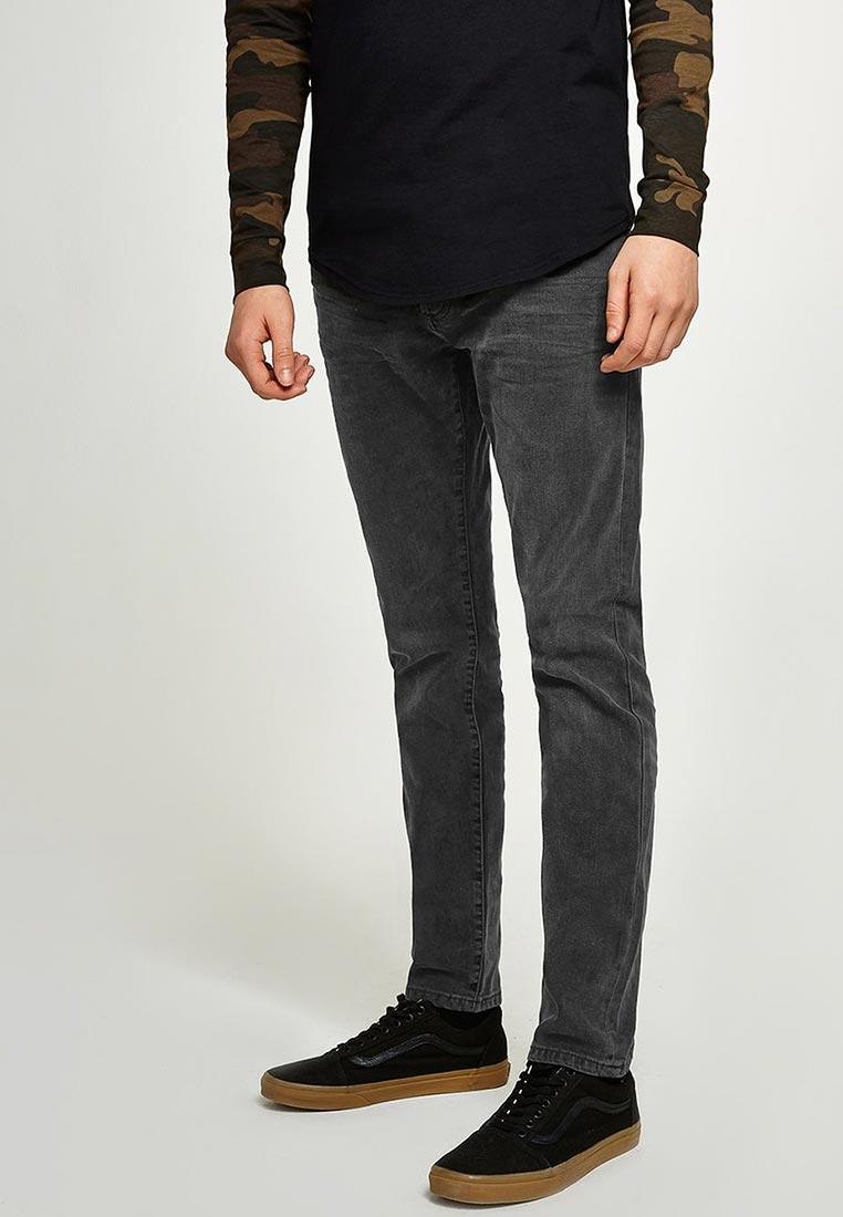 Зауженные джинсы Topman (Топмэн) 69F03PGRY