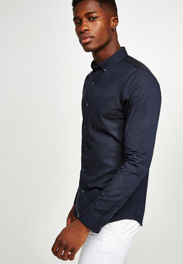 Рубашка с длинным рукавом Topman (Топмэн) 83B41ONAV