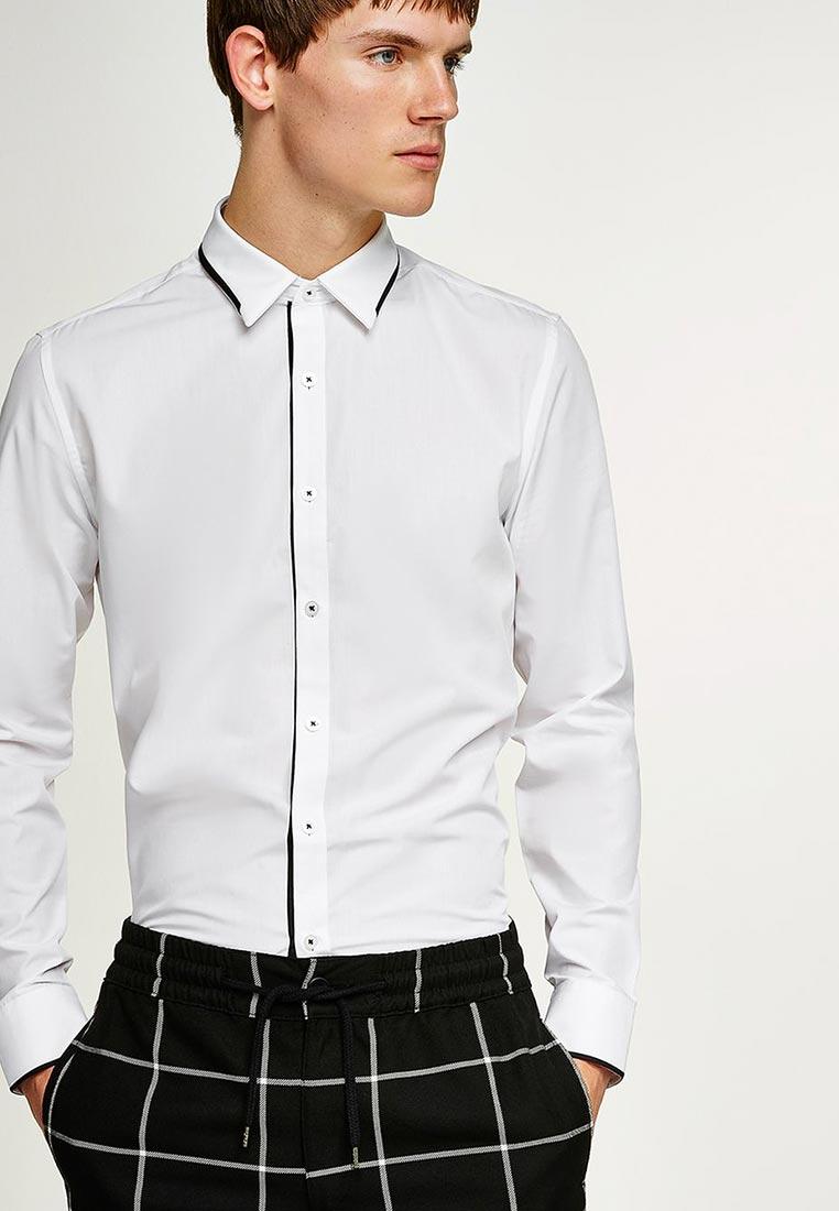 Рубашка с длинным рукавом Topman (Топмэн) 84L10OWHT