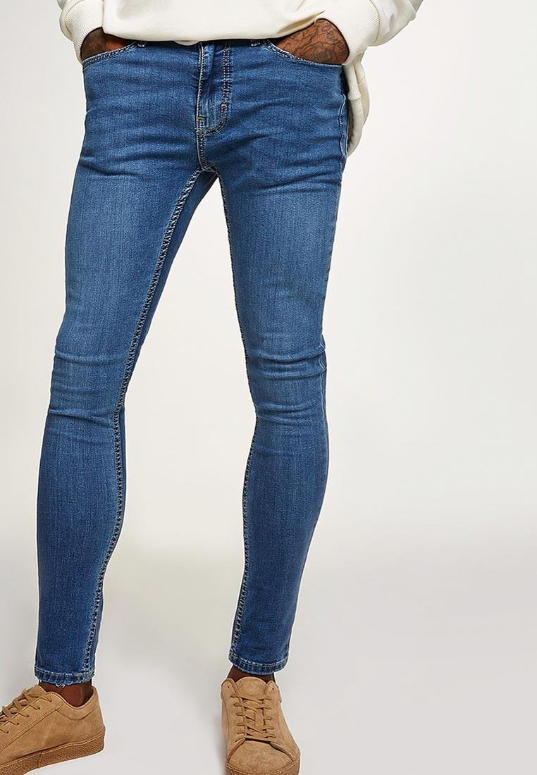Зауженные джинсы Topman (Топмэн) 69F11PLST