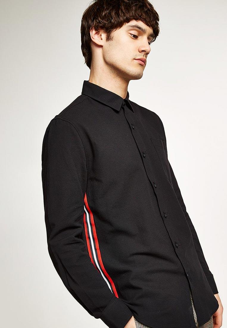 Рубашка с длинным рукавом Topman (Топмэн) 83B14PBLK