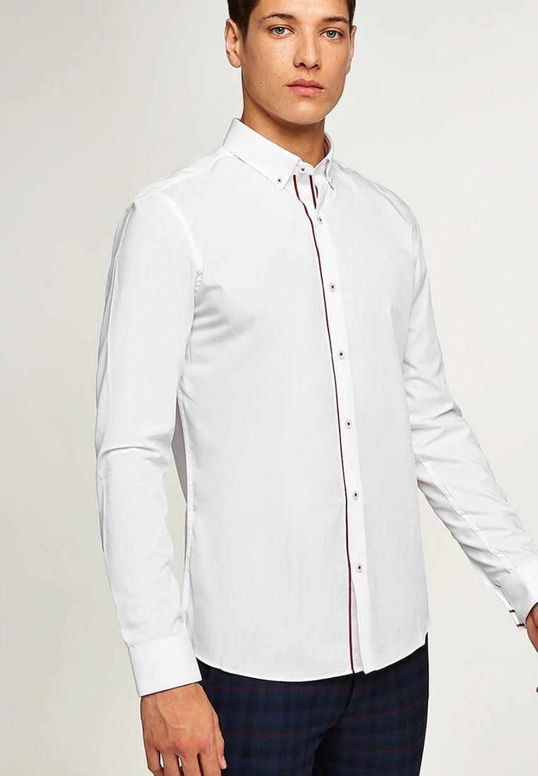 Рубашка с длинным рукавом Topman (Топмэн) 84L05OWHT
