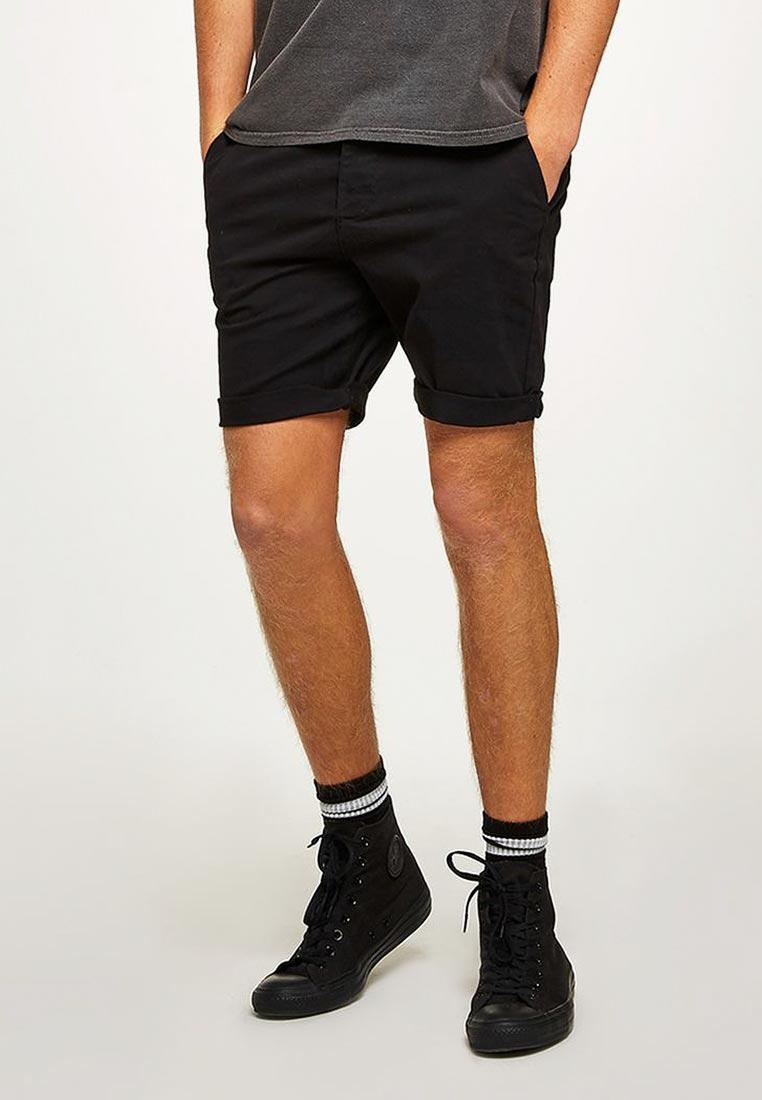 Мужские повседневные шорты Topman (Топмэн) 33S19OBLK