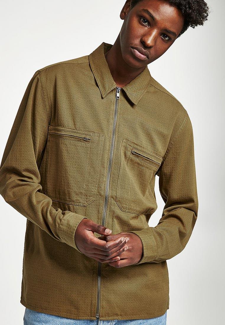 Рубашка с длинным рукавом Topman (Топмэн) 83O43OGRN