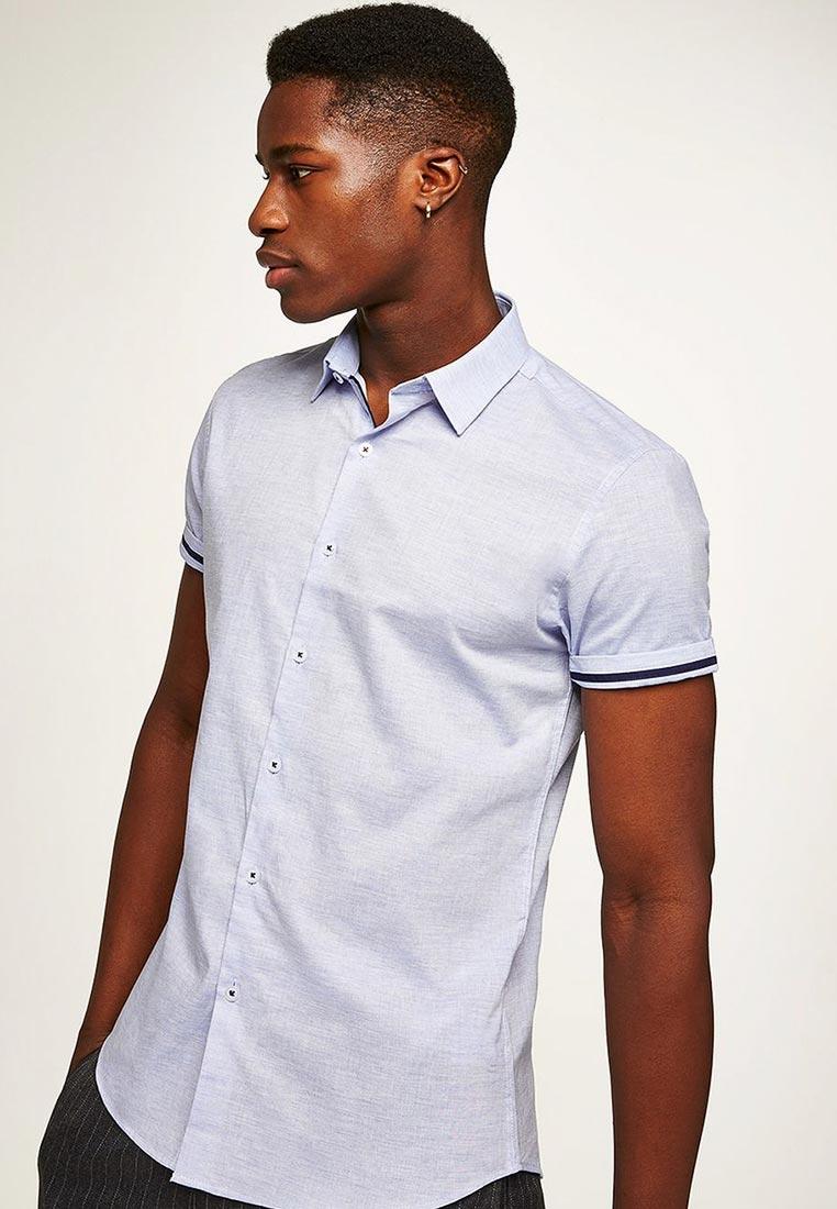Рубашка с коротким рукавом Topman (Топмэн) 84A03PBLE
