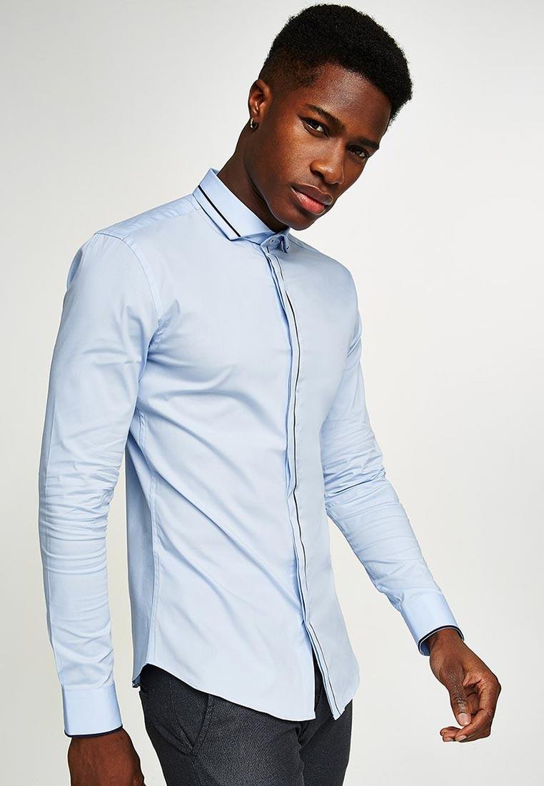 Рубашка с длинным рукавом Topman (Топмэн) 84L09OBLE