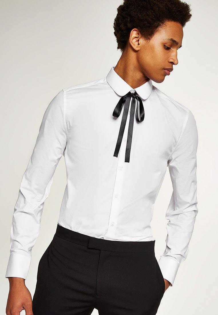 Рубашка с длинным рукавом Topman (Топмэн) 84L13PWHT