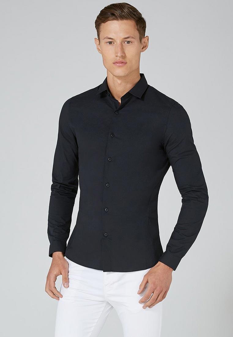 Рубашка с длинным рукавом Topman (Топмэн) 84L17OBLK