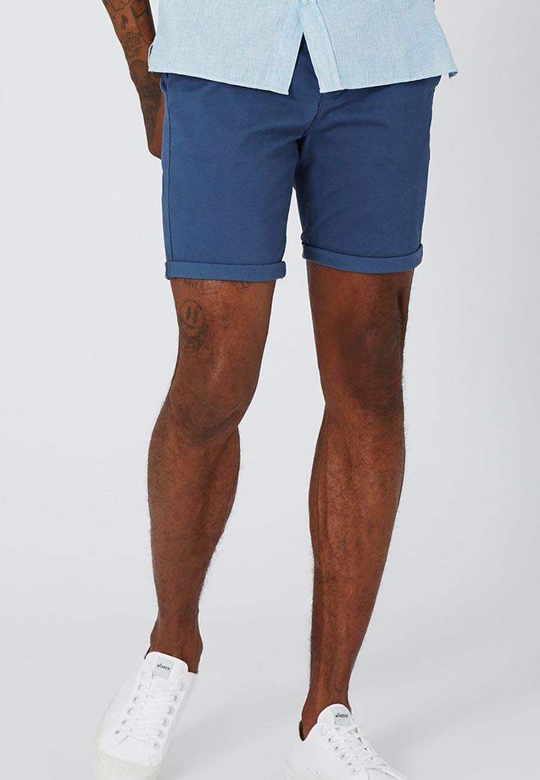 Мужские повседневные шорты Topman (Топмэн) 33S07NBLE