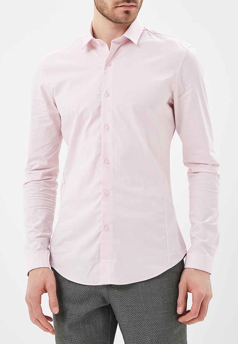 Рубашка с длинным рукавом Topman (Топмэн) 84L15PPNK