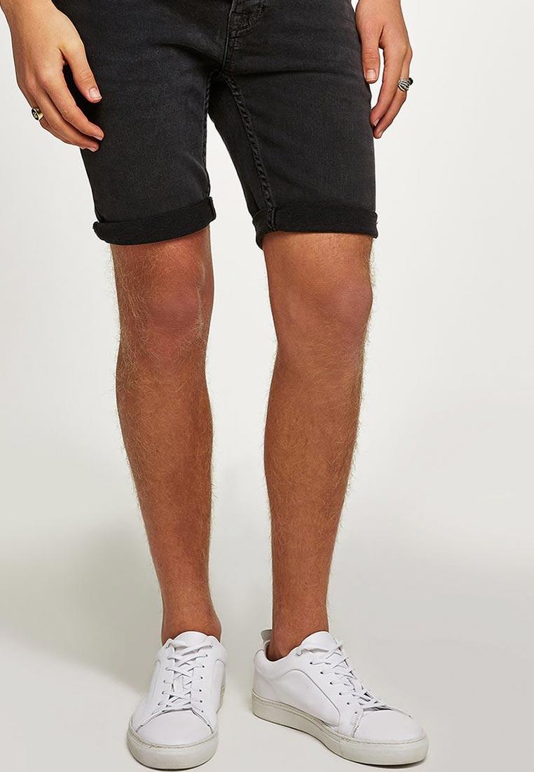 Мужские джинсовые шорты Topman (Топмэн) 33D04PGRY
