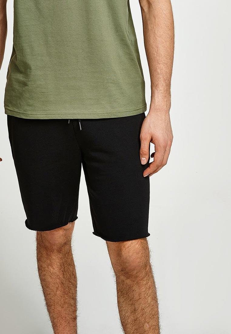 Мужские повседневные шорты Topman (Топмэн) 33J06PBLK