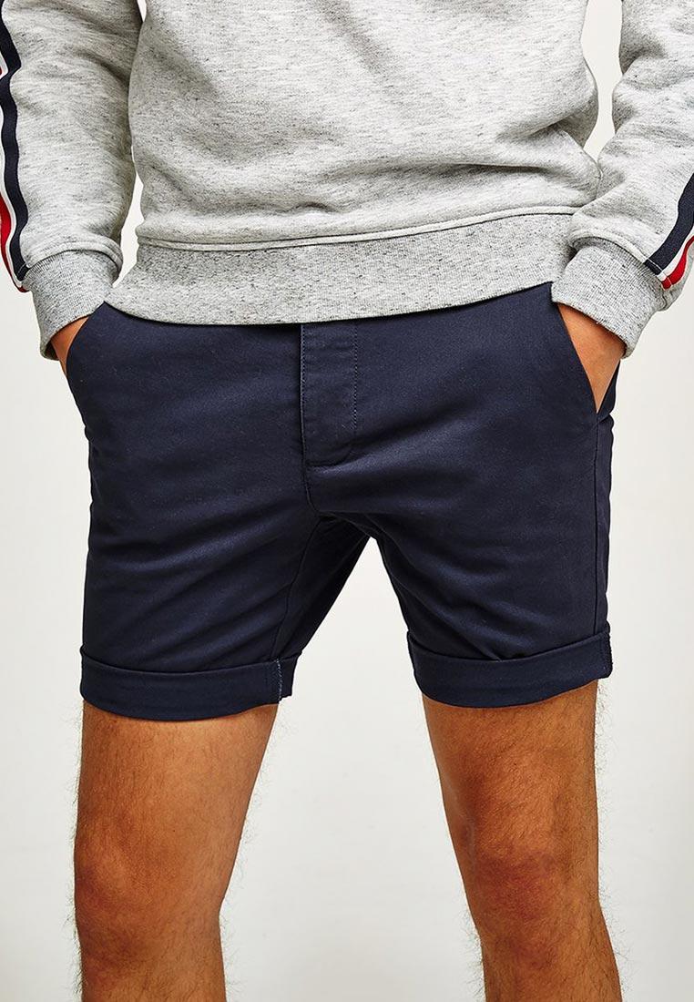 Мужские повседневные шорты Topman (Топмэн) 33S20ONAV