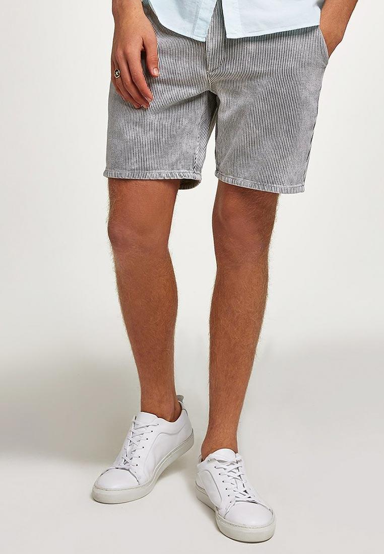 Мужские повседневные шорты Topman (Топмэн) 33U17PGRY