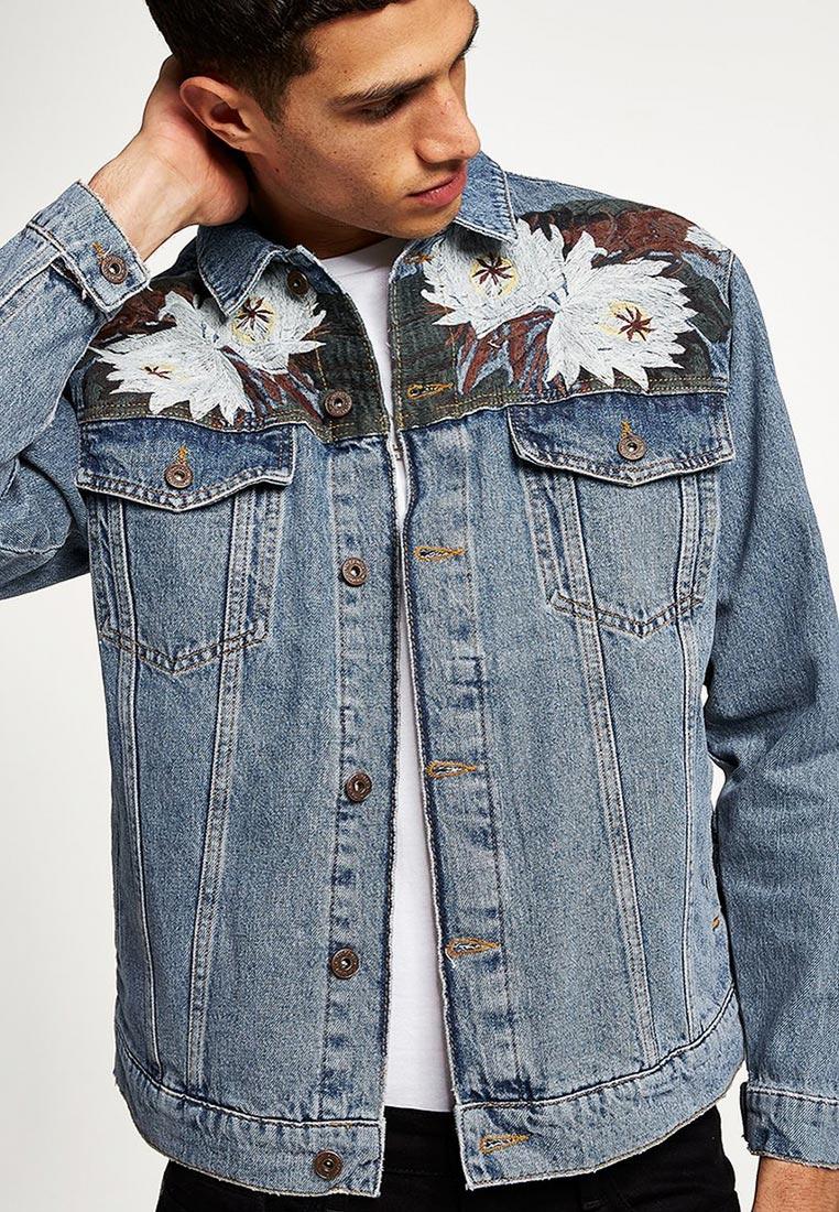 Джинсовая куртка Topman (Топмэн) 64P17QBLE